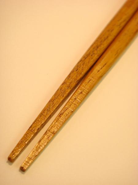 先角楕円箸
